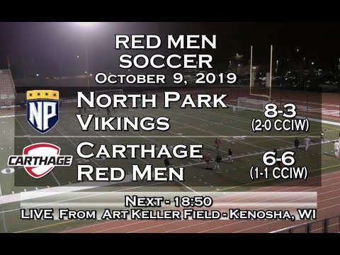 Carthage Men's Soccer Vs. North Park 2019_10_9