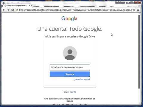Subir un Video a Google Drive