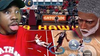 NBA 2K19 MOBILE MY CAREER GAMEPLAY | Grandpa Bridges Breaking Ankles! Ep. 3