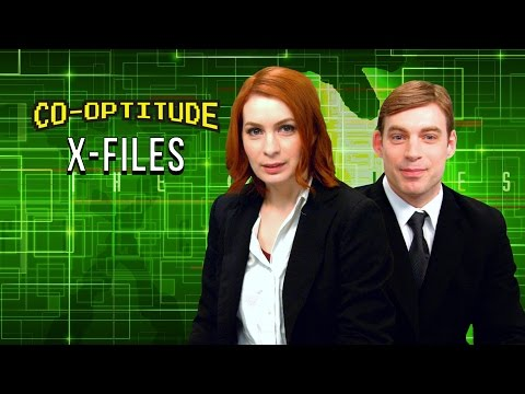 The truth is out there as Felicia Day and her brother Ryon play X-Files for Playstation 1 in this week
