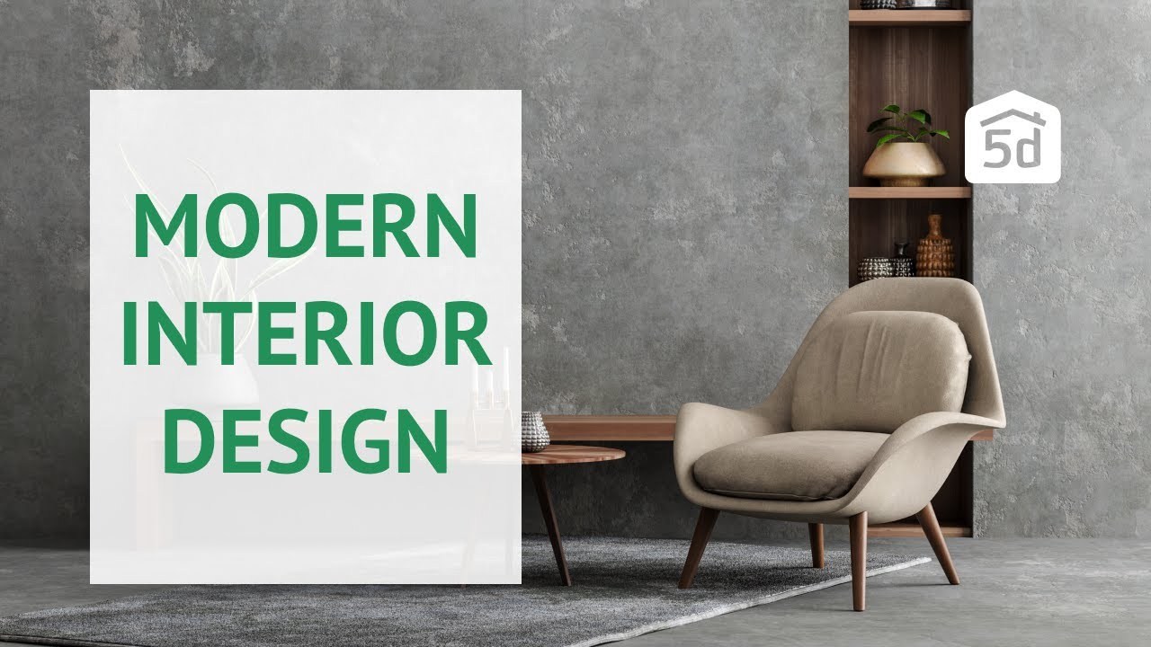 Modern Interior Design Created With Planner 5d
