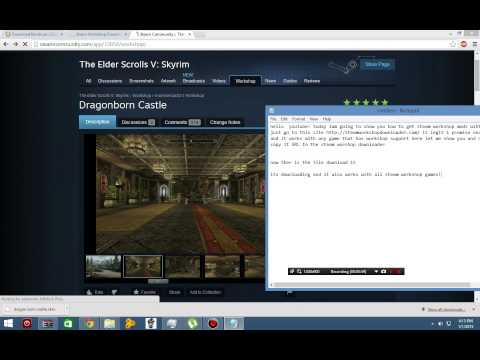 Steam External Downloader - How to download Steam Workshop item from YouTube · Duration:  57 seconds