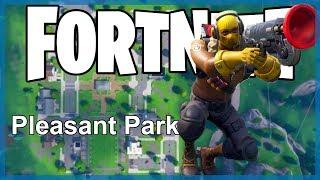 Fortnite Battle Royale: Hot Drop! - Pleasant Park! (Hot Drop Episode 5)