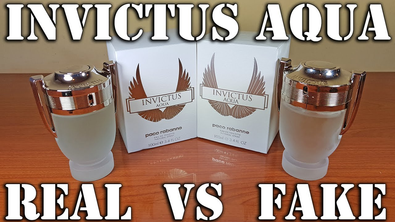 Fake Fragrance Invictus Aqua By Paco Rabanne Youtube