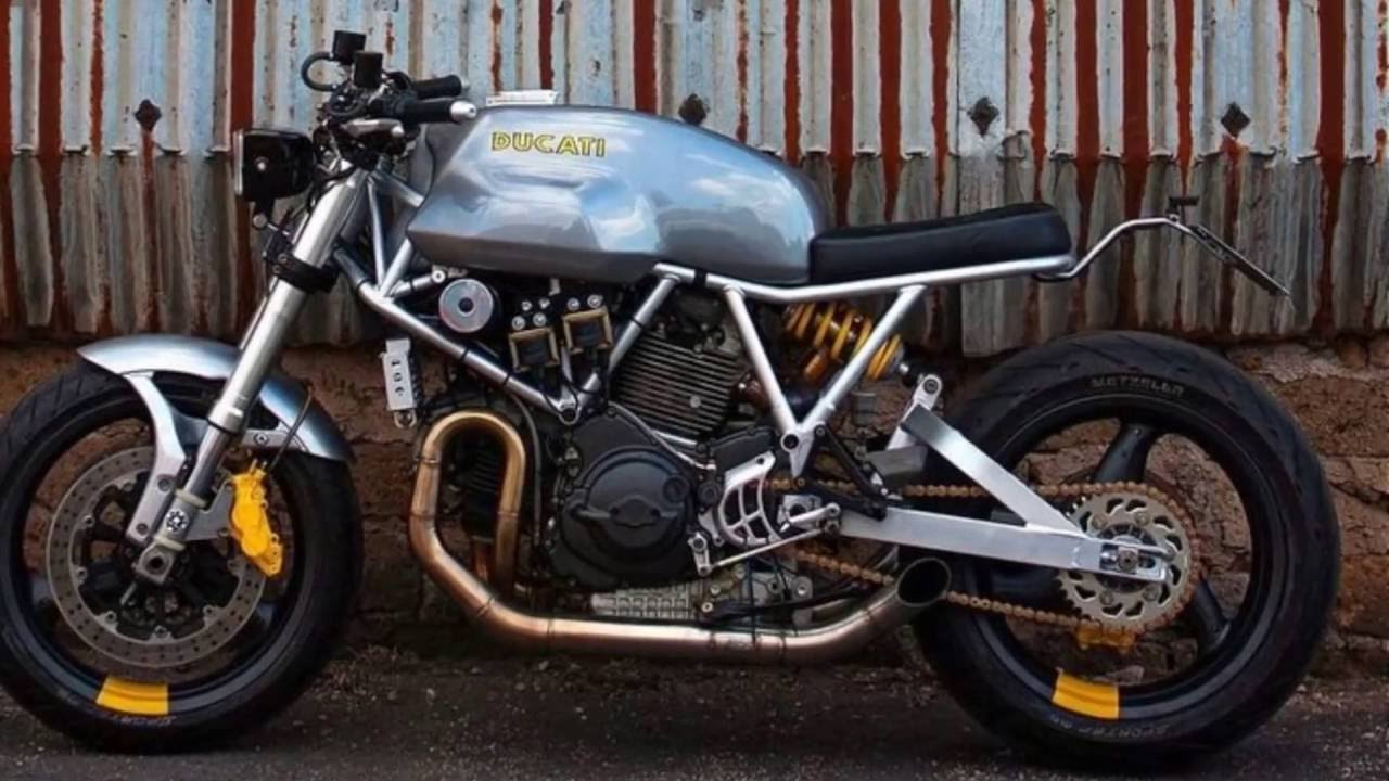 Relativ 900 Diversion Cafe Racer Beautiful - YouTube BF61