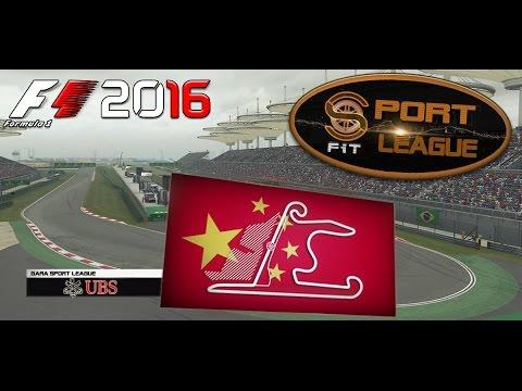 Sport League F1 2016 #03 GP Shanghai Cina 24.10.16 - Live Streaming 1080p