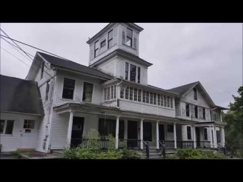 Abandoned Town--Johnsonville Village Connecticut