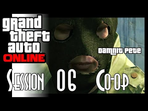 Let's Stream Grand Theft Auto Online! - Session 06 - Pacific Standard Job Continued & RC Car Racing thumbnail