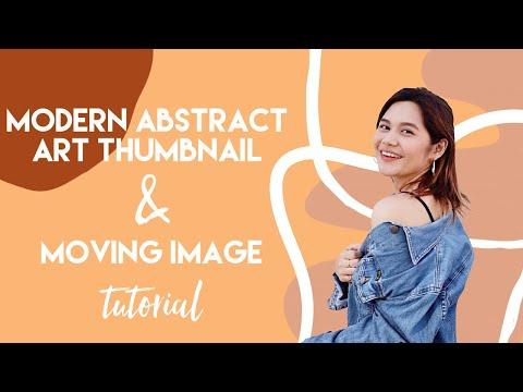 HOW I EDIT MY THUMBNAILS ✨ | AESTHETIC ABSTRACT ART TUTORIAL 2019 thumbnail