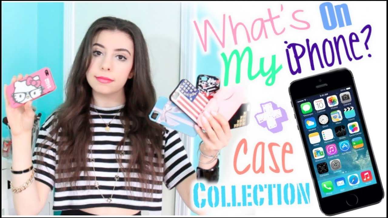 Whats On My IPhone 5 Case Collection