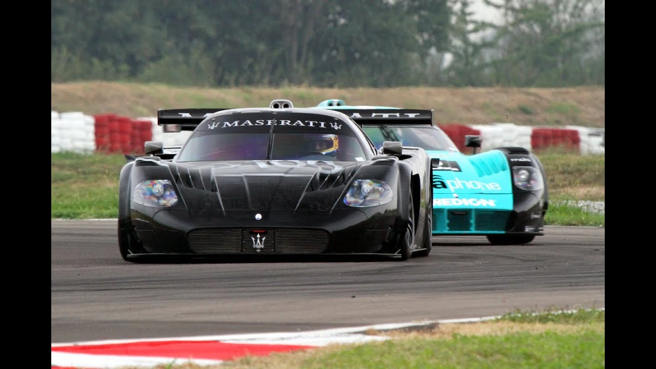 3x maserati mc12 gt1 on track pure sound youtube. Black Bedroom Furniture Sets. Home Design Ideas