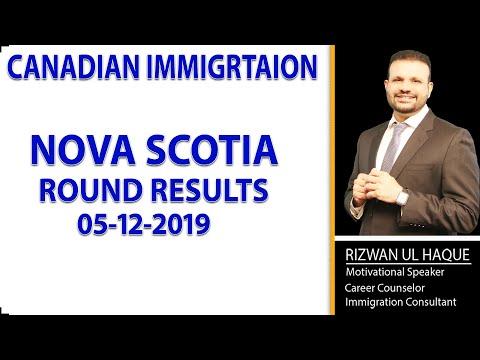 NOVA SCOTIA ROUND RESULTS (5 DECEMBER 2019)