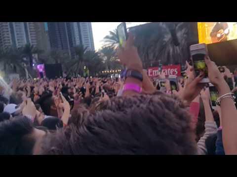 Mike Posner- I took a pill in Ibzia (Live in Dubai 2017) HD