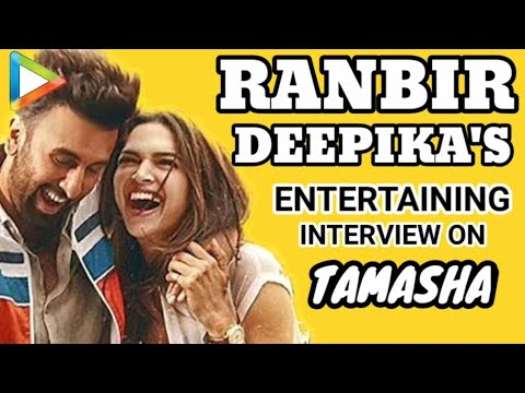 Ranbir Kapoor | Deepika Padukone Fun Filled EXCLUSIVE Interview on Tamasha