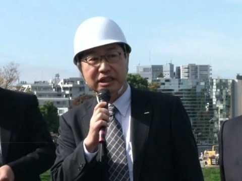 Строительство стадиона Летних Олимпийских игр 2020 года в Токио