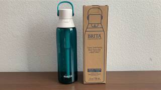 Brita Premium Filtering Water Bottle 26oz test - pH and TDS