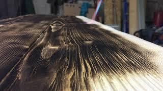 обжиг деревабарная стойкаКак состарить дерево своими руками или браширование