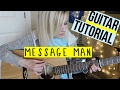 Message Man - twenty one pilots | EASY GUITAR TUTORIAL