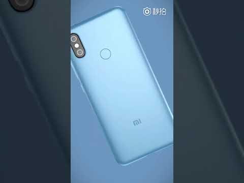 Xiaomi Mi 6X Promotional video