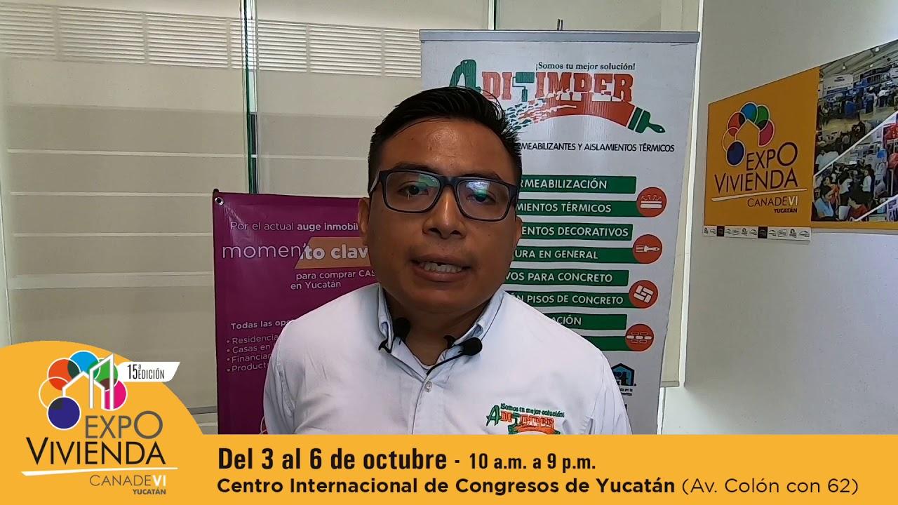 Aditimper presente en Expovivienda Yucatán 2019