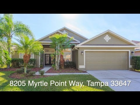 New Tampa Home For Sale - 8205 Myrtle Point Way, Tampa, FL 33647 - West Meadows
