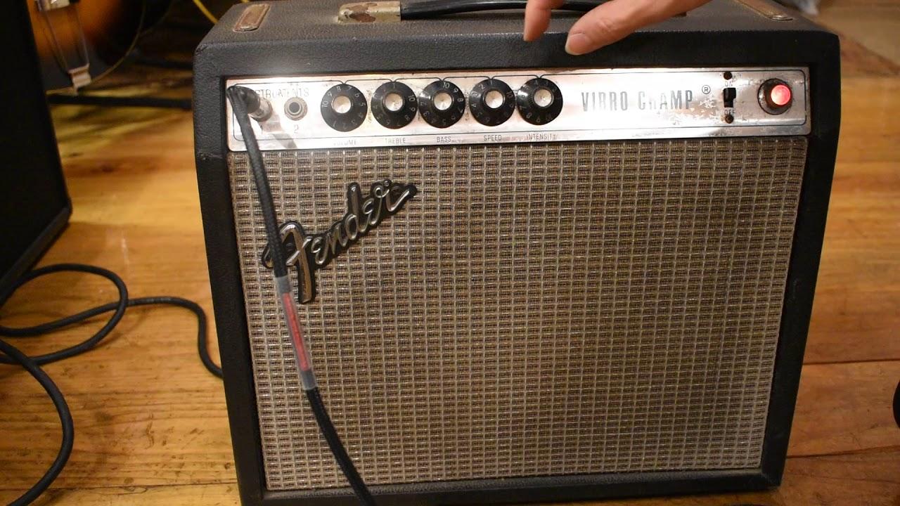 Fender Vibro Champ Amp ~Silverface~