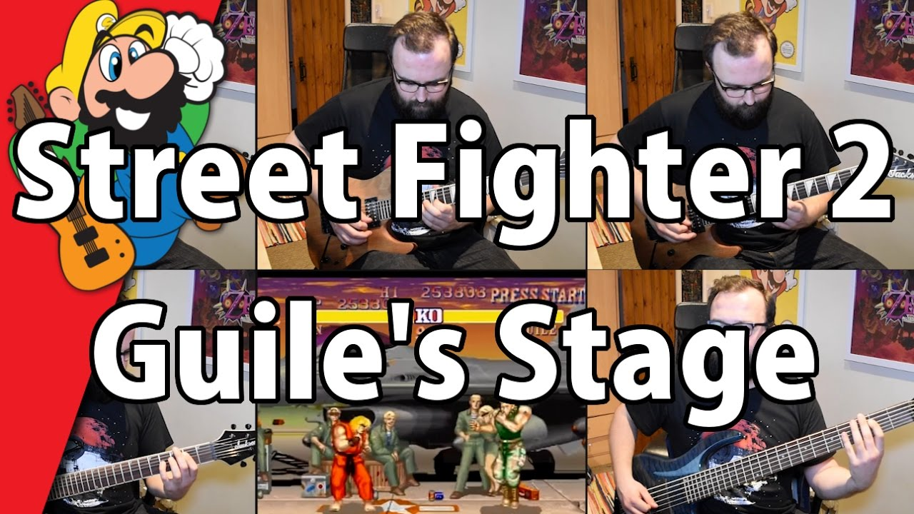 street fighter guile stage music