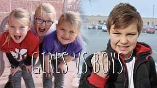 BOYS VS GIRLS! Who Has More FUN?