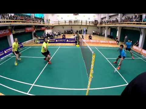 2015 07 12 MD Final Kosenko Gordey - Novoselov Vadim vs  Lim Ming Chuen - Ong Wei Khoon