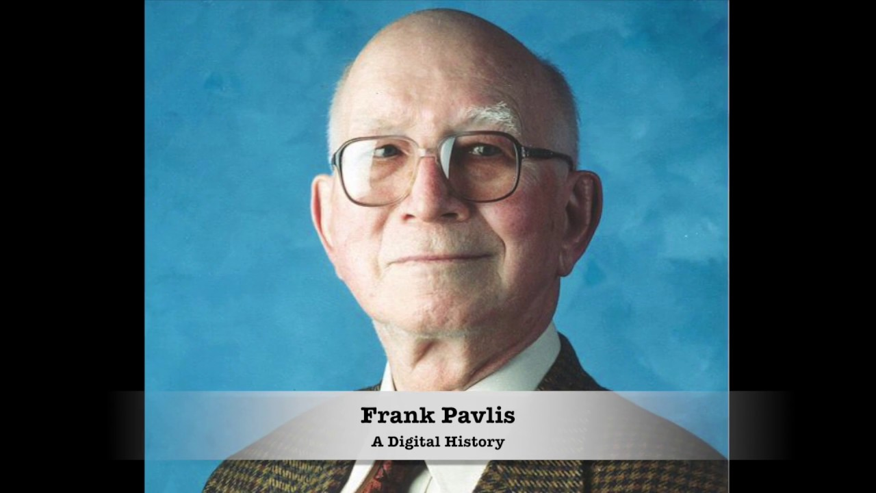 Preview image for Frank Pavlis Digital History video