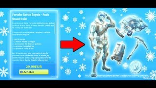 New PACK BIG FROID on FORTNITE in the BOUTIQUE - THE LESS CHÈRE!!