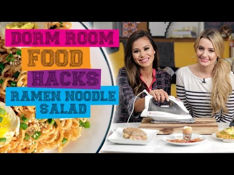 How to Make Ramen Salad in a Coffee Maker   Food Hacks