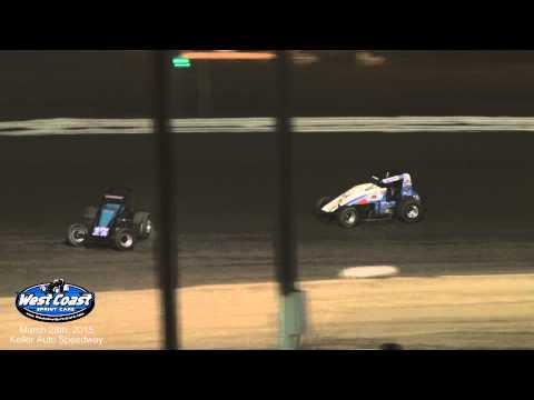 USAC 360s at Keller Auto Speedway 3-28-15