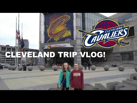 CLEVELAND TRIP VLOG! CAVS GAME AND MORE!