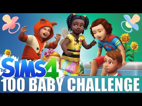 LIVE: The Sims 4 - 100 Baby Challenge #38