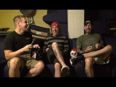 Sevendust Interview #2 in Lincoln, NE - Backstage Entertainment