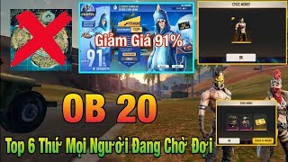 [Free Fire] Top 6 Things People Are Waiting For In Ob 20, Shop Great Discount 91%