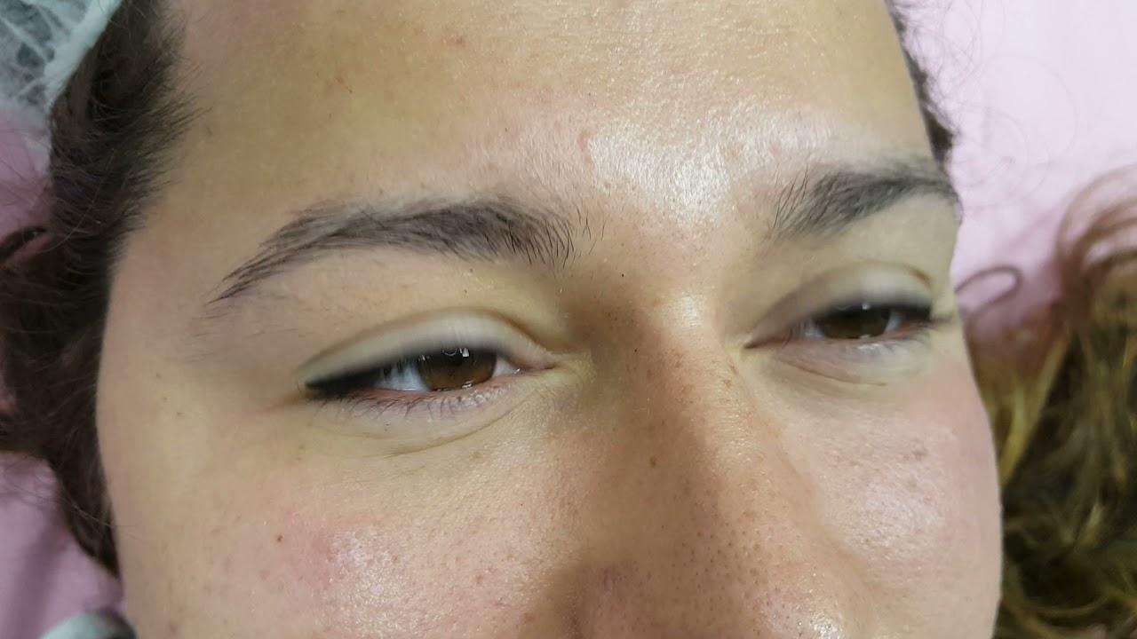Classic Winged Latino Eyeliner PMU Cosmetic Tattoo fresh by El Truchan @ Perfect Definition