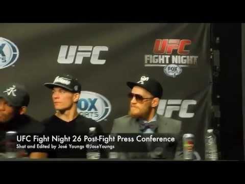 UFC Fight Night 26: Shogun vs. Sonnen Post Fight Press Conference