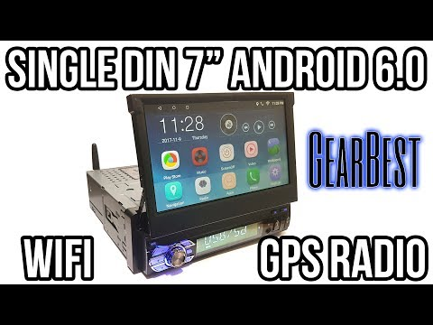 Single Din Android 6.0 Car Stereo GPS+WiFi - Ezonetronics