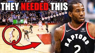 This Is Why The Raptors TRADED For Kawhi Leonard From The Spurs In The NBA