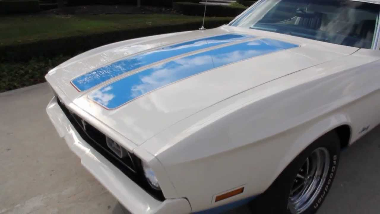 Classic Muscle Cars For Sale >> 1972 Ford Mustang Sprint Edition Classic Muscle Car for ...