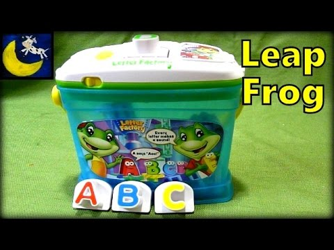 letter factory phonics toy from leapfrog