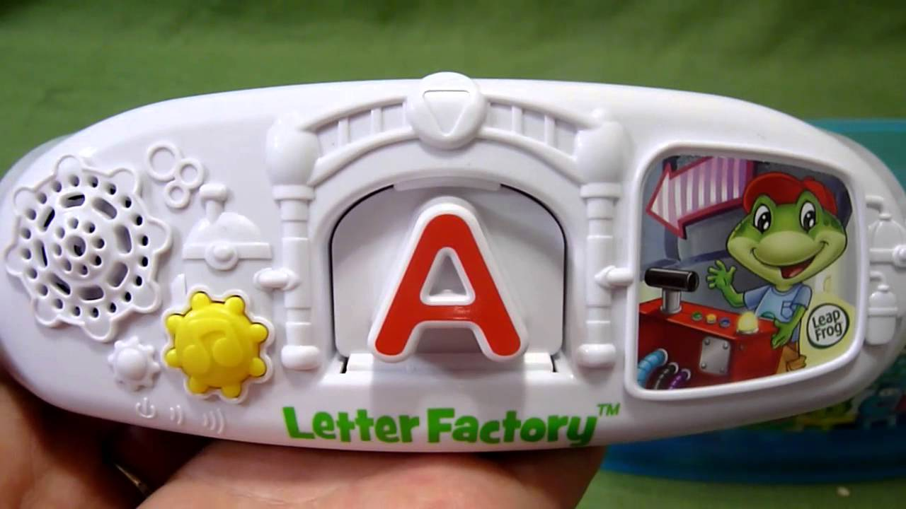 Letter Factory Phonics Toy from LeapFrog   YouTube