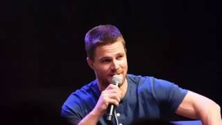 Stephen Amell likes to make movies for his daughter