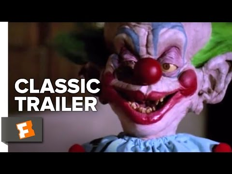 Killer Klowns from Outer Space Official Trailer #1 - John Vernon Movie (1988) HD