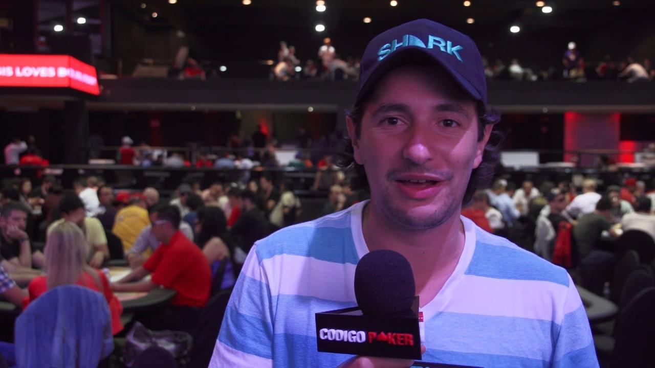 Red Poker Tour Dia 1C Entrevista con Santiago Nadal