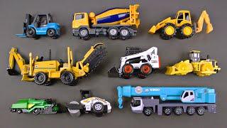 Learning Construction Vehicles for Kids - Construction Equipment Matchbox Hot Wheels Tomica トミカ Siku