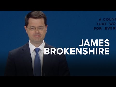 James Brokenshire: Speech to Conservative Party Conference 2016