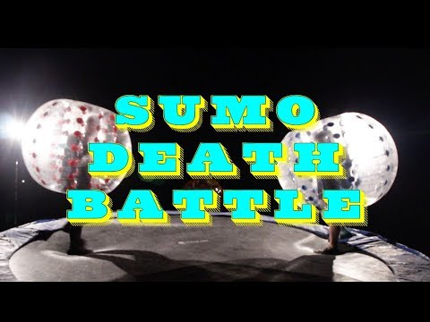 Giant Bubble Sumo Fight!!